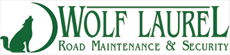 Wolf Laurel Road Maintenance & Security
